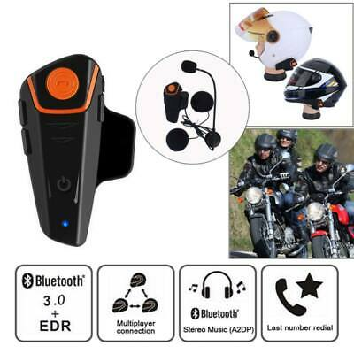 Motorcycle Helmet Bluetooth Headphone Motorbike Headset Intercom FM