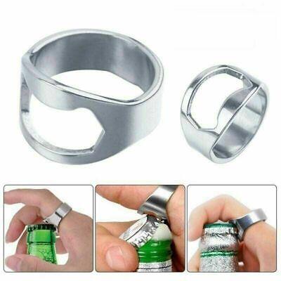 5pc Finger / Thumb Ring Bottle Opener Professional Bartender's Bottle Opener