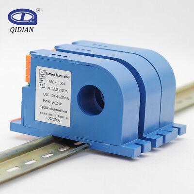 Hall Effect Current Transmitter 0-10v Current Sensor Ac Dc Current Transmitter