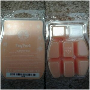 Scentsy's Posy Peach - 5 cubes in clamshell