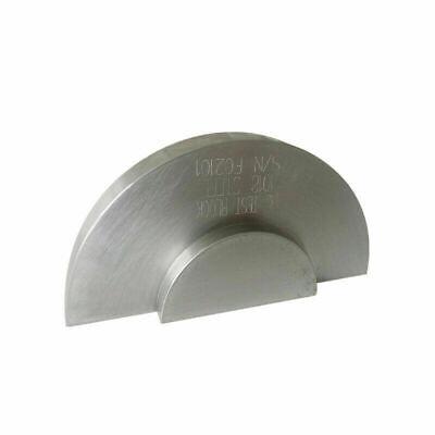 Aws Type Dc Calibration Block Ndt Ultrasonic Flaw Detector Metric 1018 Steel
