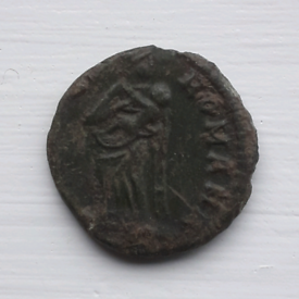 Tiny Roman coin 2 - Mother and Child