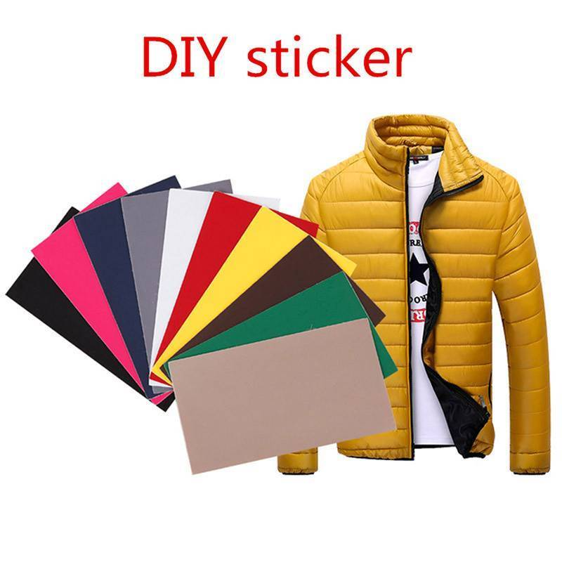 Self-adhesive Non Ironing Repair Patch for Down Jackets Tent Umbrella Black