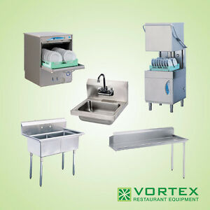 Restaurant Sinks & Commercial Dishwashers
