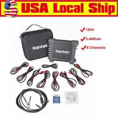Hantek 1008c 8 Channels Osciloscopio Auto Usb Programmable Generator Generator