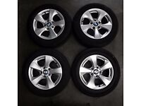 "Set Of 4 16"" Genuine BMW Style 306 Alloy Wheels"