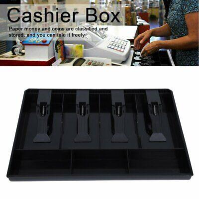 Cash Register Insert Tray Replacement 4 Bills 3 Coins Money Storage Drawer Box