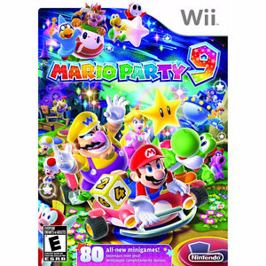 Wii - Mario party 9 - New & sealed