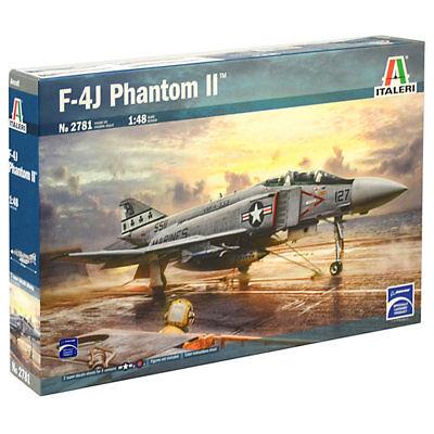 ITALERI F-4J Phantom II 2781 1:48 Aircraft Model Kit