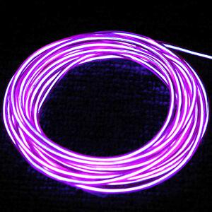 rope light string purple 15 electro luminescent 12 volt 12v g sport. Black Bedroom Furniture Sets. Home Design Ideas