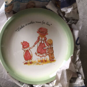 "Vintage ""Mother"" Holly Hobby plate Windsor Region Ontario image 1"
