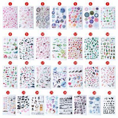 UV Epoxy Resin Materials Filler Sticker Floral Animal Landscape DIY Crafts Decor - Craft Materials