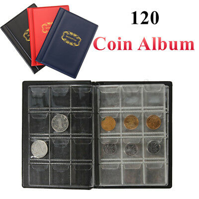 Collecting 120 Pockets World Coin Collection Storage Holder Money Album Book US