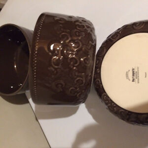 New Pier one serving bowls