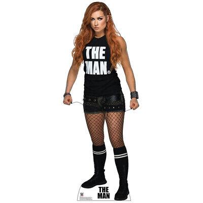 6c0d123d8d744 BECKY LYNCH WWE Wrestling Divas CARDBOARD CUTOUT Standup Standee Poster The  Man