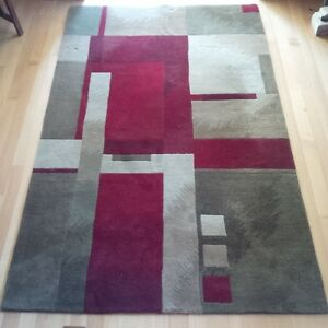 Wool Area Rug/ Andy Warhol Revolution Design