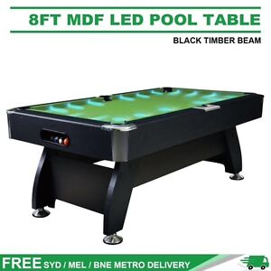 Free Delivery! Brand New! LED Pool Table / Snooker x3 Red x 1 Brisbane City Brisbane North West Preview
