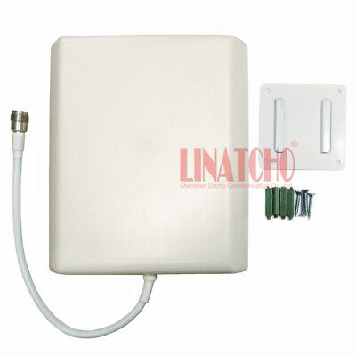 9dBi 800-2500MHz GSM 3G WIFI Repeater Directional Multi band Flat Panel Antenna  2.4 Ghz Flat Panel