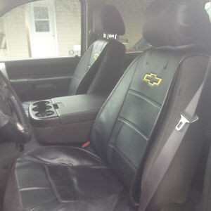 Chevrolet leather seat,headrest and steering wheel covers