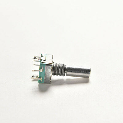 1 Pcs Ec11 Rotary Encoder Audio Digital Potentiometer With Switch Handle 20mm Nj