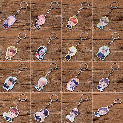 BTS Kpop BangTan Boys Acrylic Single Side Keychain Keyrings Keyrings J-Hope New