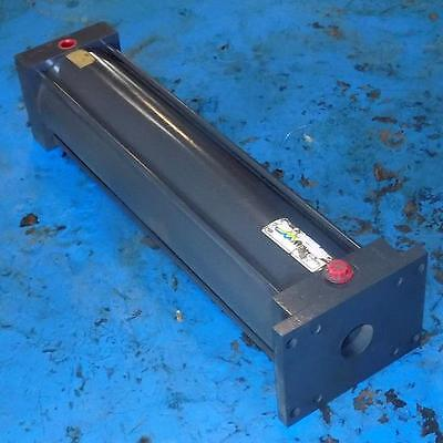 Miller 6 Bore 24 Stroke 1-34 Rod Diameter 250psi Pneumatic Cylinder A62b1n