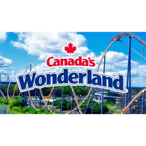3 Canada's Wonderland Tickets