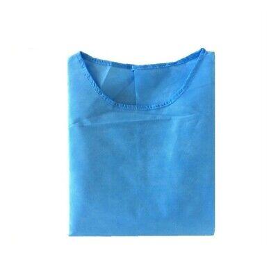 Disposal Isolation Gown Dental Medical Hospital Lab Fluid Resistant Ppe 10pk