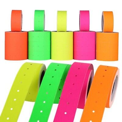 500pcsroll Colorful Price Label Paper Tag Mark Sticker For Mx-5500 Labeller Gun