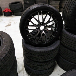 17 inch Lexus Toyota infinity 17 inch rim and tire package