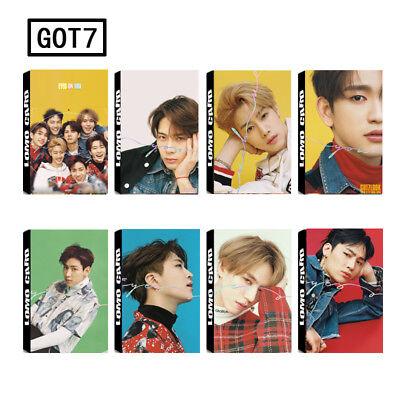 K Pop 30Pcs Got7 Lomo Card Eyes On You Photocard Jackson Mark Bambam Jb Jr New