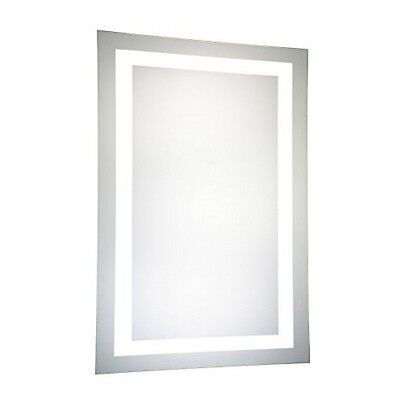 Elegant Lighting  Led Electric Mirror Rectangle W24Inh40In Dimmable 5000K- New