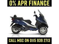 PIAGGIO MP3 BUSINESS 500 HPE ABS ASR 2020 MATT BLUE - 0% FINANCE AVAILABLE