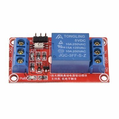 5v 1 Channel H L Level Trigger Relay Optocoupler Module For Arduino K7q8
