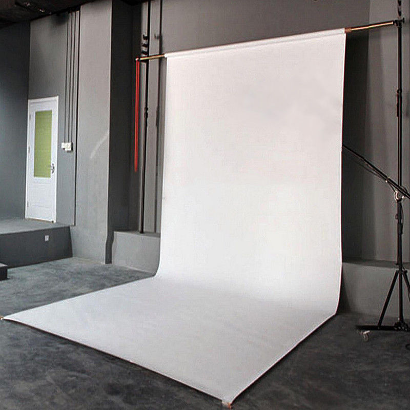 Pure White Photography Wall Backdrop Studio Photo Props Vinyl Background 5x7ft