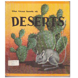 THE TRUE BOOK OF DESERTS BY ELSA POSELL