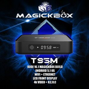 MAGICKBOX T95 QUAD CORE ANDROID TV BOX !! Kodi 16.1 !!