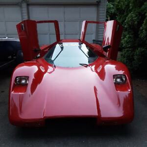 81 Manta Montage Mclaren G6 GT - replica on 74 beetle chassis