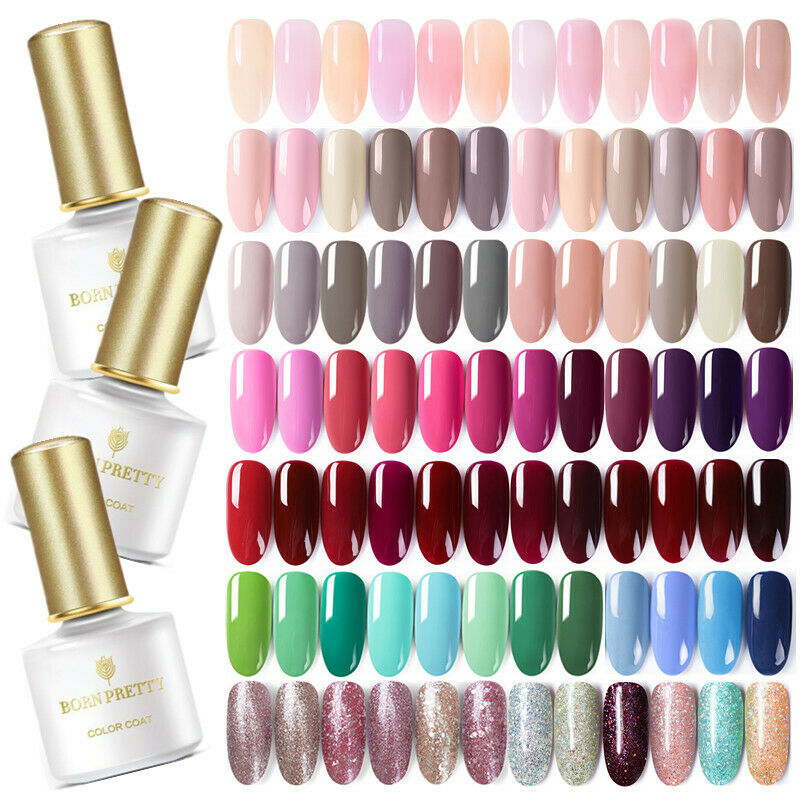 BORN PRETTY Nail UV Gel Polish Soak Off Nail Art Topcoat Bas