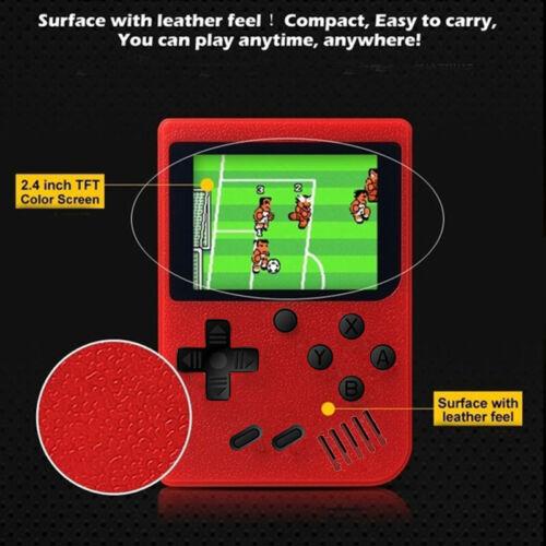 Handheld Game Box Console Built-in 400 Classic Games Mario M