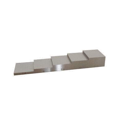Yushi2.5 5-7.5-10-12.5mm Steel Calibration Block For Ultrasonic Thickness Gauge