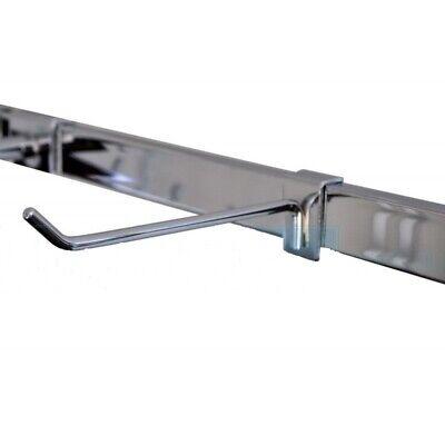 Wall Strip Crossbar Hooks 8 Chrome - Free Shipping