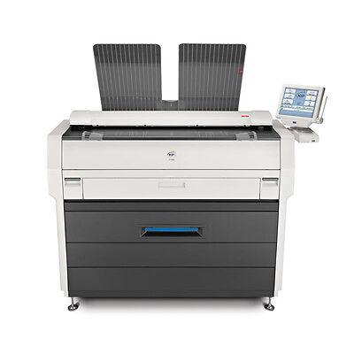 Kip 7100 Mfp Wide Format Pdf Copier Plotter Printer And Color Scanner