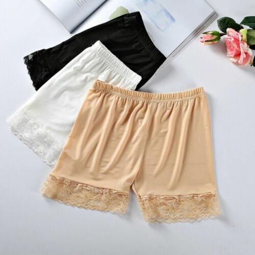 3Stück Damen Panty Pants Sicherheitshosen unter Rock Shorts für Kleid Lady DE