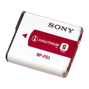 Authentic Sony NP-FG1 InfoLithium Type G Rechargeable Battery