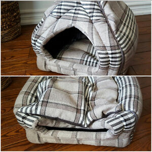 Small dog beds, dog crates, dog harness & other accessories