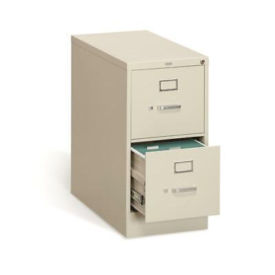 Hon 310 Series Vertical 2 Drawer Letter File Cabinet In Putty