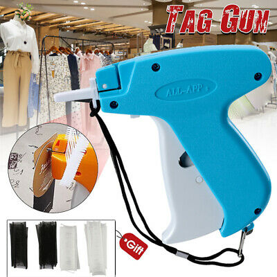 Clothes Garment Price Label Tagging Tag Gun Machine 2000 Barbs Steel Needle
