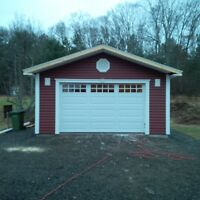 CUSTOM SHEDS AND GARAGES