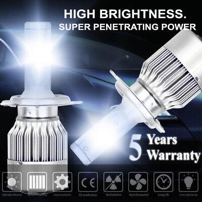 1600W 240000LM H4 9003 LED Conversion Headlight KIT Hi/Low Beam 6000K White